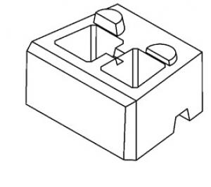 Блок пустотелый (БП)