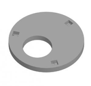 1ППФ10-1 (Плита перекрытия колодца)